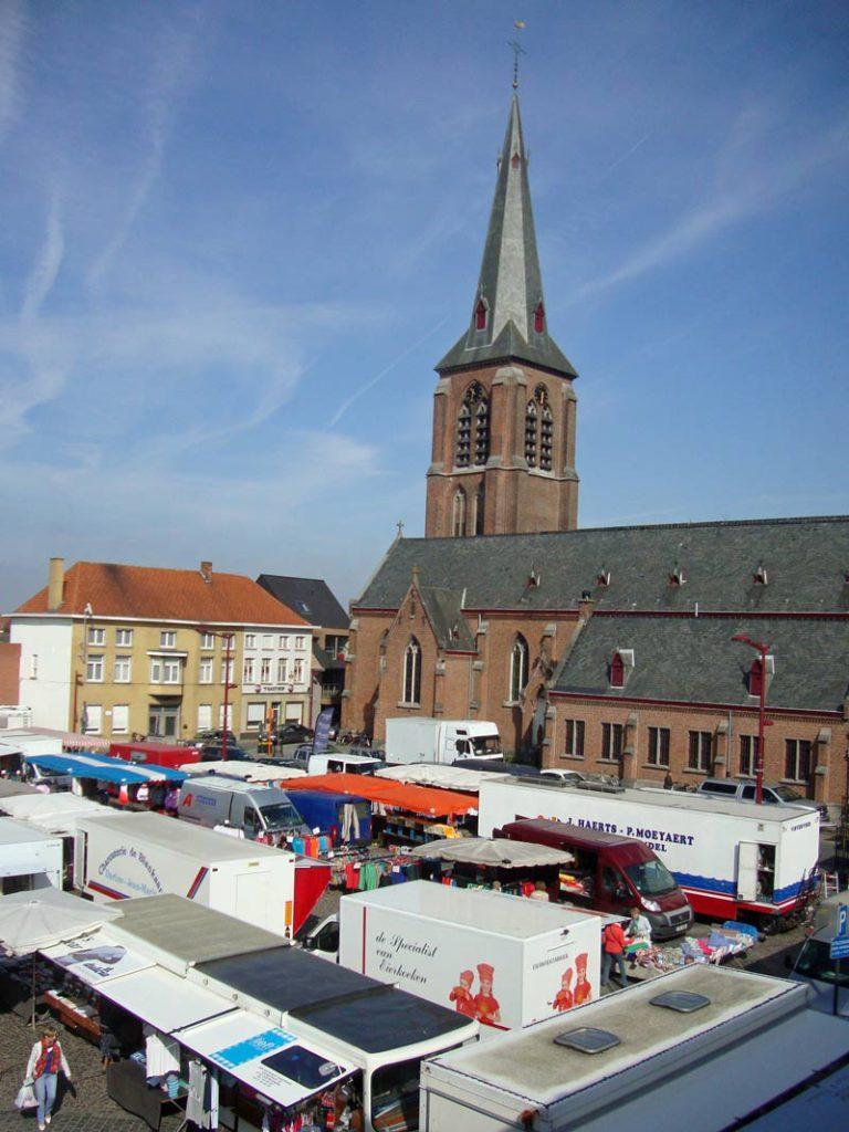Wekelijkse markt op woensdag te Meulebeke